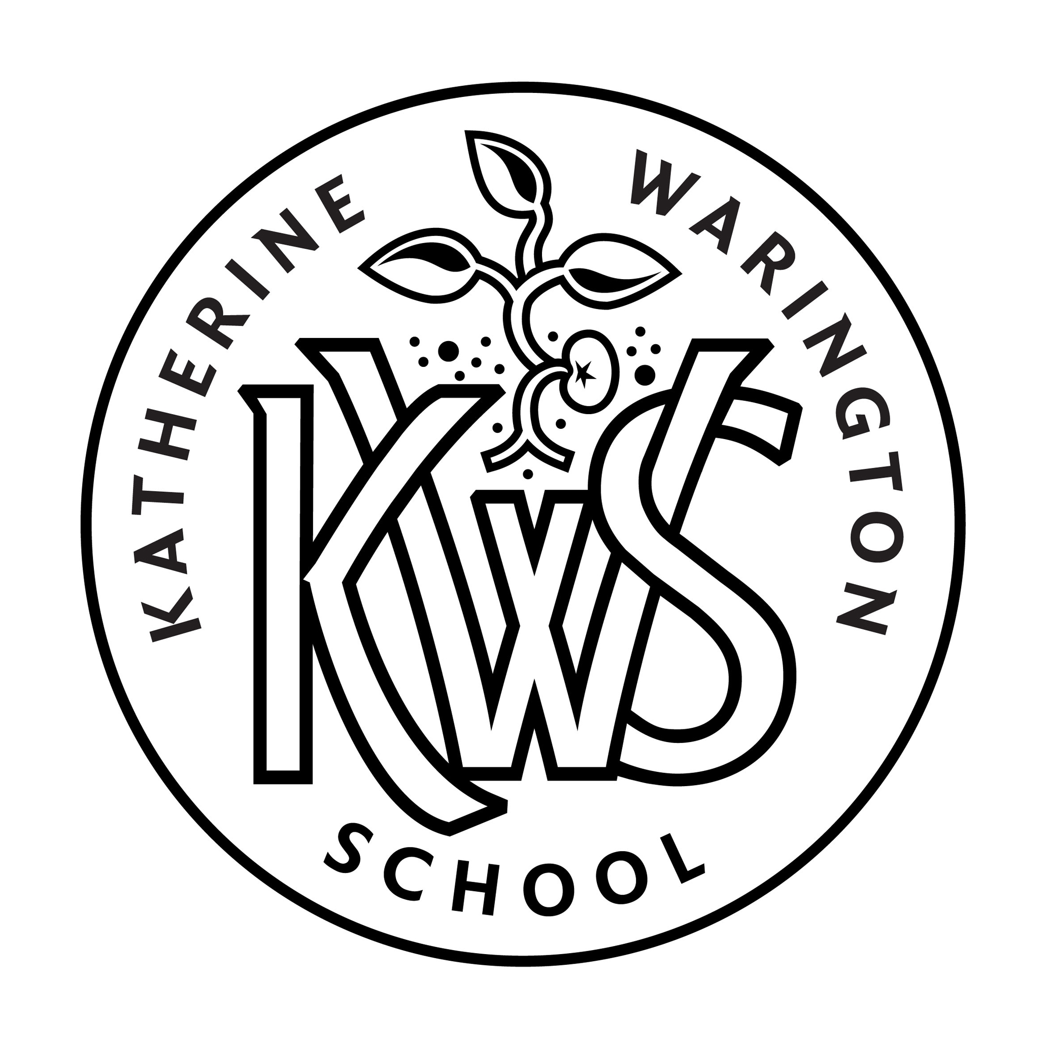 Katherine Warington School badge
