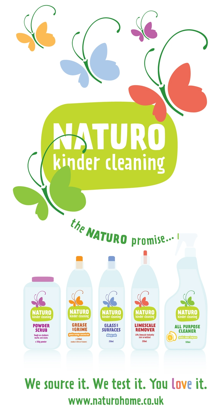 Naturo, kinder cleaning